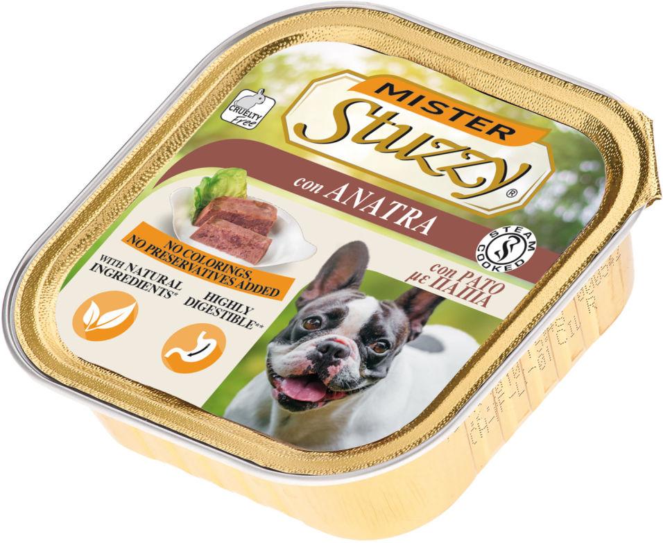 Корм для собак Mister Stuzzy Dog с уткой 150г
