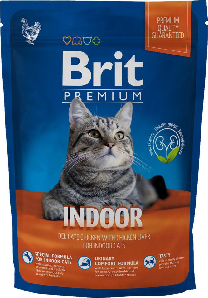 Отзывы о Сухом корме для кошек Brit Premium С куриной печенью 800г