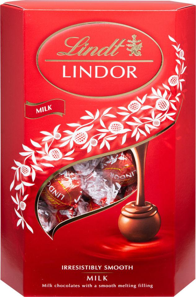 Отзывы о Конфеты Lindt Lindor из молочного шоколада 337г