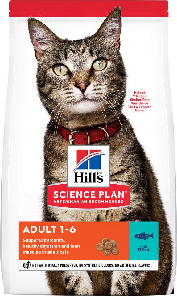 Отзывы о Сухом корме для кошек Hills Science Plan для профилактики МКБ Тунец 10кг