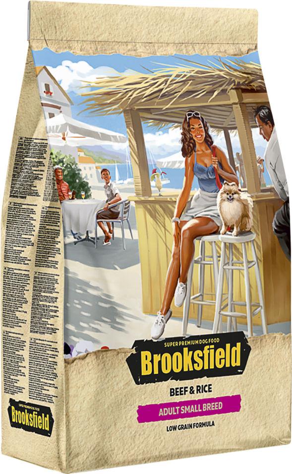 Сухой корм для собак Brooksfield Adult Dog Small Breed для мелких пород с говядиной и рисом 800г