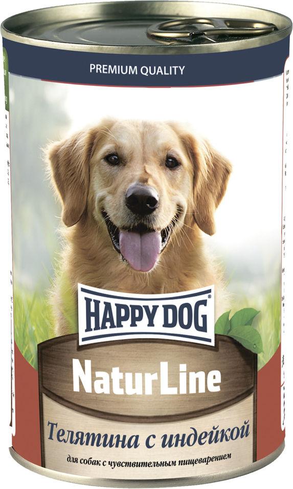 Отзывы о Корме для собак Happy Dog Телятина с индейкой 410г
