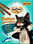 Лакомство для кошек Мнямс Рыбный фестиваль Лакомые палочки лосось форель 3шт*4г
