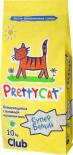 Наполнитель для кошачьего туалета PrettyCat Супер белый комкующийся 10кг