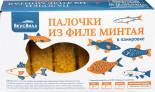 Палочки ВкусВилл из филе минтая в панировке замороженные 300г