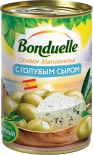 Оливки Bonduelle Мансанилья с голубым сыром 314мл