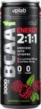 Напиток Vplab Аминокислоты BCAA Energy 2:1:1 Малина 330мл