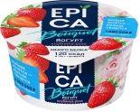 Йогурт Epica Bouquet Клубника-роза 4.8% 130г
