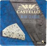 Сыр Castello Blue Classic с голубой плесенью 50% 125г