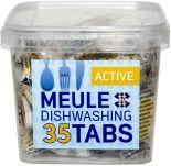 Таблетки для посудомоечных машин Meule Active 35шт