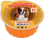 Корм для собак Зоогурман Мясное Суфле с курицей 100г