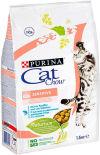 Сухой корм для кошек Cat Chow Sensitive 1.5кг