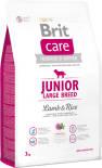 Сухой корм для собак Brit Care Ягненок с рисом для щенков крупных пород 3кг