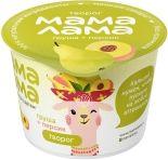 Творог детский Мама Лама с персиком и грушей 3.8% 100г