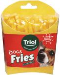 Лакомство для собак Triol Fun Food Картофель фри со вкусом говядины 100г