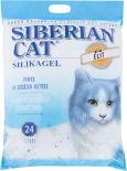 Наполнитель для кошачьего туалета Сибирская кошка Элита силикагель 24л