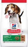 Сухой корм для щенков Hills Science Plan Puppy Medium для средних пород с ягненком 2.5кг