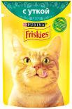 Корм для кошек Friskies с уткой в подливе 85г