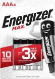 Батарейки Energizer Max + Power Seal AAA 4шт