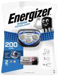 Фонарь Energizer налобный 100 lumens + 3AAA