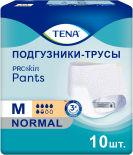 Подгузники-трусы Tena Pants Normal для взрослых размер М 80-110см 10 шт