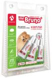 Капли репеллентные Mr. Bruno Green Guard для щенков и маленьких собак менее 10кг 1мл