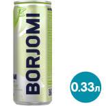 Напиток Borjomi Flavored Water Лайм-Кориандр без сахара 330мл