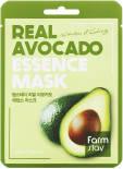 Маска для лица FarmStay тканевая с экстрактом авокадо 23мл