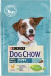 Сухой корм для щенков Dog Chow Small Breed Puppy с курицей 2.5кг