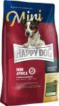 Сухой корм для взрослых собак Happy Dog Страус 1кг