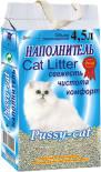 Наполнитель для кошачьего туалета Pussy-Cat Цеолитовый впитывающий 4.5л