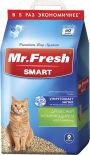 Наполнитель для кошачьего туалета Mr.Fresh Smart для короткошерстных кошек 9л