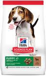 Сухой корм для щенков Hills Science Plan Puppy Medium для средних пород с ягненком 12кг