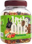 Лакомство для грызунов Little One Овощная смесь 150г