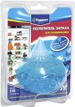 Поглотитель запаха Topperr для холодильника голубой лед
