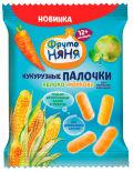 Палочки кукурузные ФрутоНяня Яблоко и морковь 20г