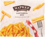 Картофель фри Маркет Перекресток быстрозамороженный 400г