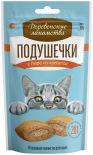 Лакомство для кошек Деревенские лакомства Подушечки с пюре из креветок 30г