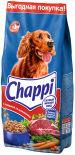 Сухой корм для собак Chappi Сытный мясной обед с говядиной по-домашнему 15кг