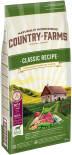 Сухой корм для собак Country Farms Classic Recipe с ягненком 12кг