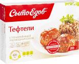 Тефтели СытоЕдов с гречневой кашей под овощным соусом 350г