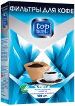 Фильтры для кофе Top house неотбеленные 1*4 100шт