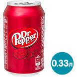 Напиток Dr.Pepper 330мл