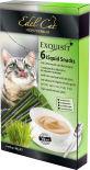Лакомство для кошек Edel Cat крем-суп Ливерная колбаса и травы 90г