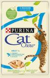 Корм для кошек Cat Chow с лососем и зеленой фасолью в желе 85г