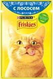 Корм для кошек Friskies с лососем в подливе 85г