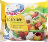 Смесь овощная 4 Сезона 8 овощей быстрозамороженная 400г