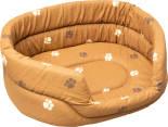 Лежак для кошек Дарэлл овальный 42*33*15см