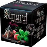 Чай черный Sigurd Raspberry Mint 15 пак