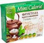 Фруктоза Mini Calorie прессованная в кубиках 280г